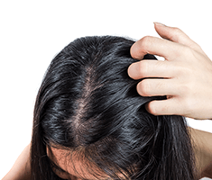 Restoring an irritated scalp